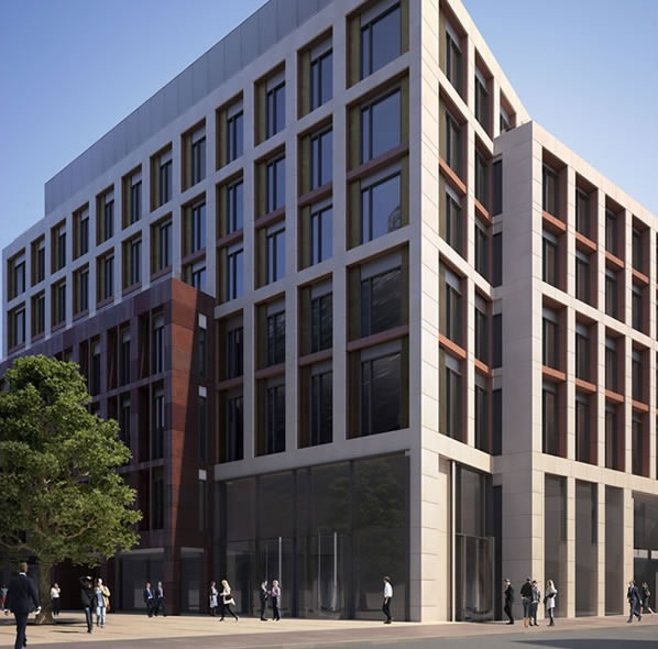 Cardinal house farringdon crossrail oversite development london ec1 john robertson architects - Building a home according to cardinal directions ...