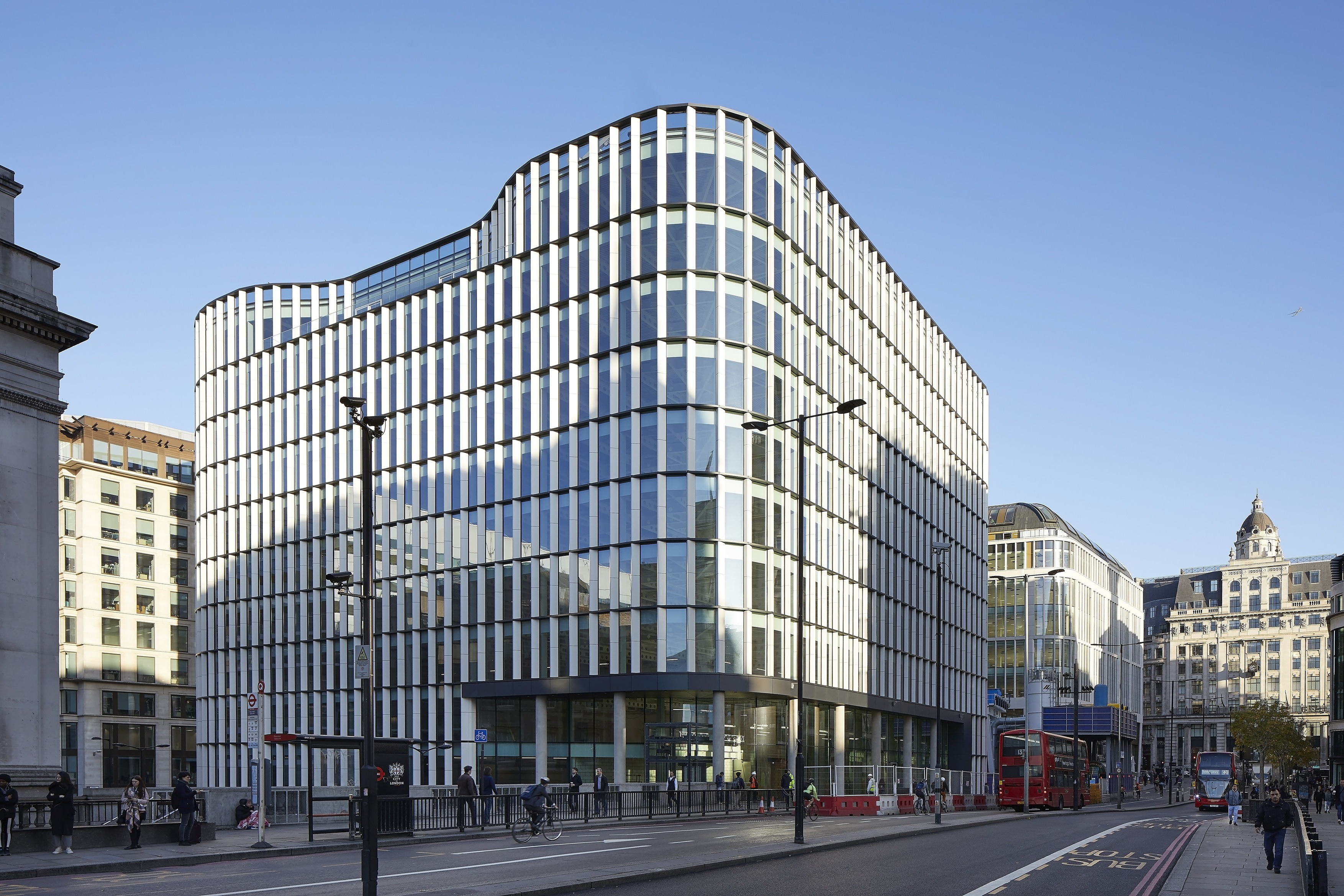 33 King William Street New Offices Complete John