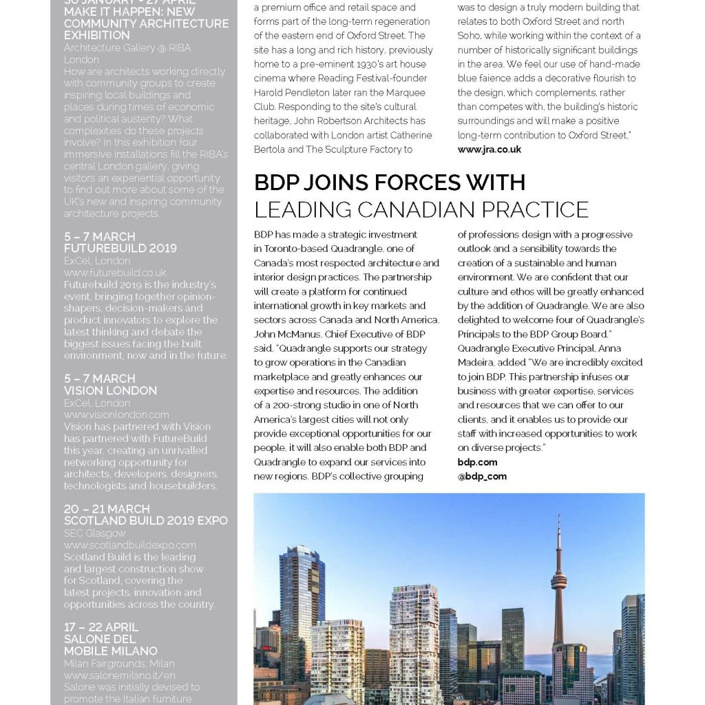 Academy House, Architecture Magazine, March 2019_Page_2 - John